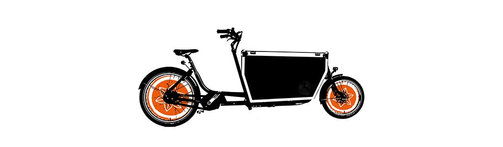 Mobile Shiatsu Massage mit dem Fahrrad in Köln